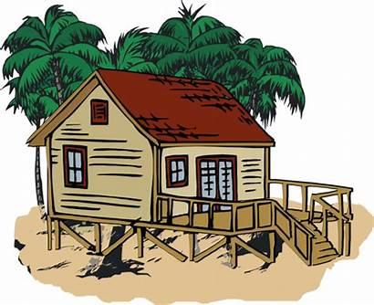 Beach Clipart Houses Clip Nice Ocean Library