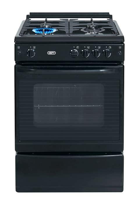 defy full gas stove black model dgs newappliances