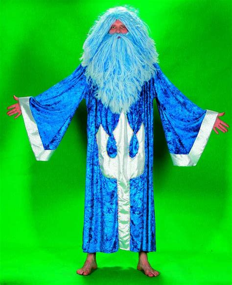 wassermann kostüm karneval wassermann neptun kost 252 m karneval fasching ebay