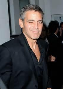 George Clooney Wink