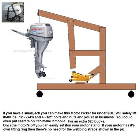 How To Make A Boat Motor Stand by How To Build A Boat Motor Stand Impremedia Net