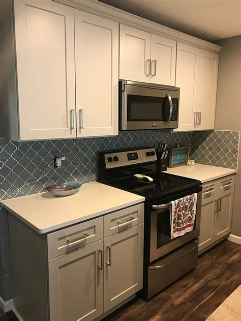 buy shaker light gray rta ready  assemble kitchen cabinets