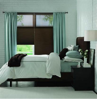 Window Bedroom Shades Sheer Treatment Blind Drapes