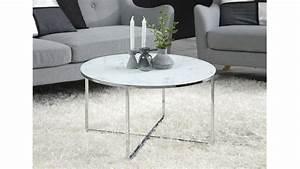 Couchtisch Weiß Glas : couchtisch alisma in glas wei marmoroptik und chromgestell ~ Frokenaadalensverden.com Haus und Dekorationen