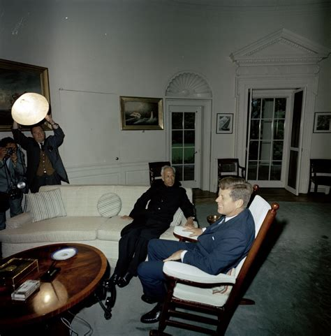 jfk rocking chair oval office st c200 6 63 president f kennedy with president of