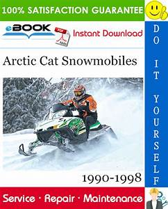 Best  U2606 U2606 Arctic Cat Snowmobiles Service Repair Manual 1990