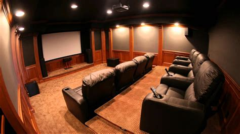 Home Theatre : Home Theater Ideas For Modern House-traba Homes