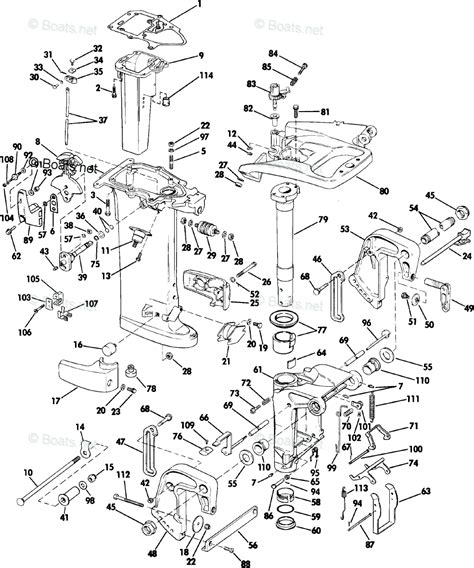 Boats Net Johnson Parts by 1985 Johnson Outboard Motor Parts Impremedia Net