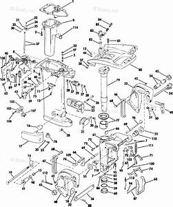Johnson Outboard Parts By Year 1985 Oem Parts Diagram For