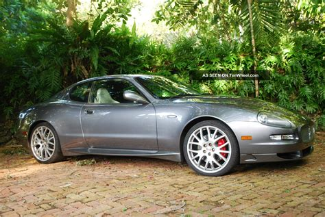 Maserati 2 Door Coupe by 2006 Maserati Gransport Base Coupe 2 Door 4 2l