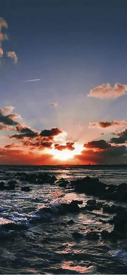 Iphone Wallpapers Sunset Xr Ocean Gorgeous Landscape