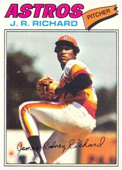 topps jr richard  baseball card  price guide