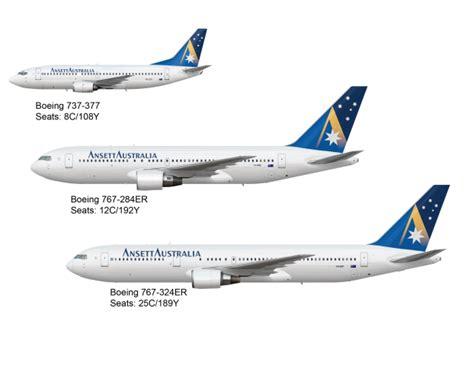 Ansett Australia Boeing Fleet - Starmark Livery - unzipped ...