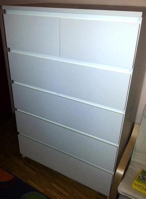 ikea kommode malm weiß in glonn ikea möbel kaufen und verkaufen über kleinanzeigen