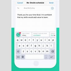 Grammarly Debuts Ios Keyboard App To Help Improve Your Grammar In Messages, Twitter, And More