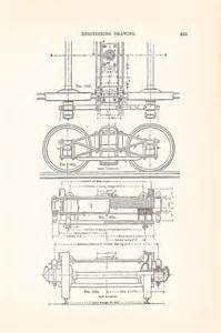 Old Technical Drawing Car