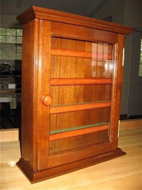 Knife Display Cabinet by Knife Display Finewoodworking