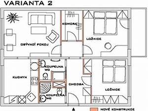 Přestavba bytu 3 1 na 4 1