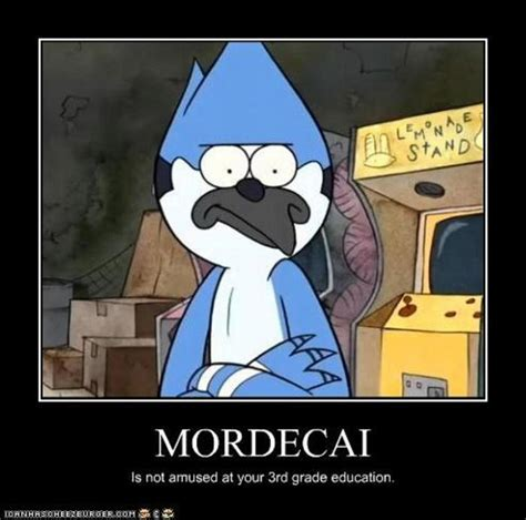 Regular Show Memes - regular show mordecai and rigby memes