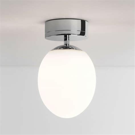 astro lights kiwi ip44 led bathroom ceiling light in chrome