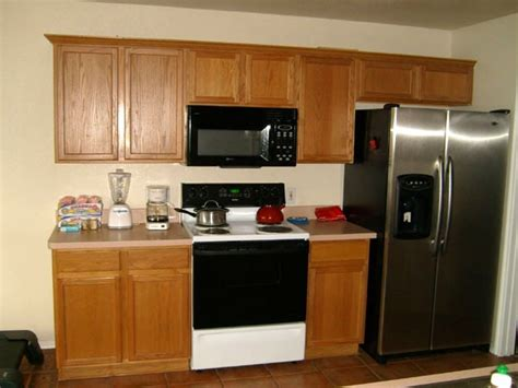 How To Update Oak Cabinets - great ideas to update oak kitchen cabinets