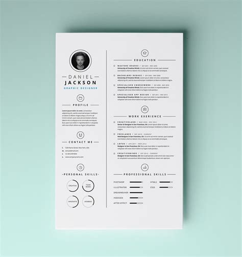 Cool Resume by Cool Resume Design Lifestyle