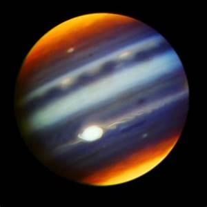 Ground-based telescopes observe Jupiter to support the ...