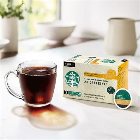 When available, we provide pictures, dish ratings, and descriptions of each menu item and its price. Starbucks® Plus Honey Caramel Coffee | Starbucks® Coffee At Home