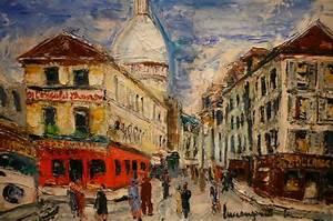 Peinture De Paris Poissy : le march biron genin lucien peinture 20 me si cle vue ~ Premium-room.com Idées de Décoration
