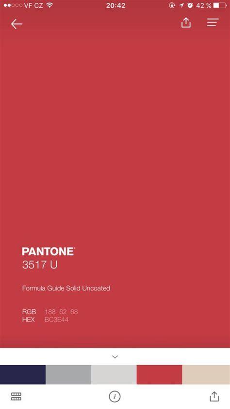 pantone red experimentation blog