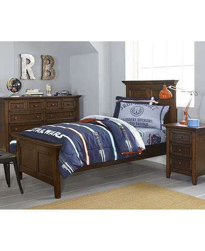 Matteo Kids Twin Bedroom Furniture Collection, Created For