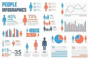 People Infographics Template Vector Eps  Ai Illustrator