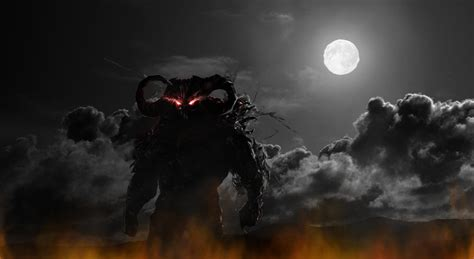 evil demon wallpaper wallpapersafari