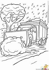 Snow Plow Coloring Katy Sketchite sketch template