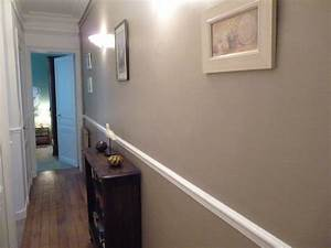 Idee Deco Photo : idee deco couloir peinture galerie avec idee deco couloir ~ Preciouscoupons.com Idées de Décoration
