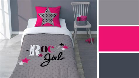 chambre fushia gris what colors for a bedroom best usa