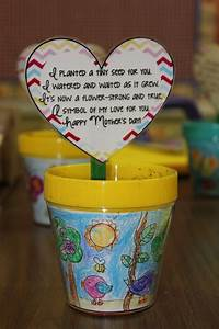 Mother's Day Project Ideas~ A painted pot and planting kit ...