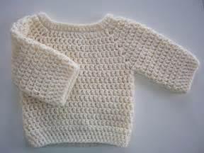 Basic Crochet Baby Sweater Pattern Free