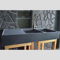 1200mm Double Bowl Kitchen Sink Granite Stone  Besso
