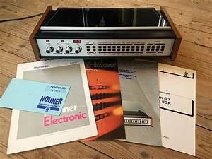 Vintage Analog Drum Machine    Box Hohner Rhythm 80
