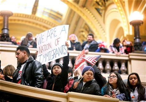 Immigrants protest Wisconsin legislative proposals | WLUK