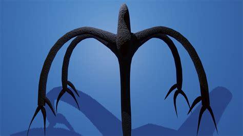 shadow monster from stranger things 3D model FBX BLEND