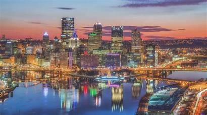 Pittsburgh Desktop Skyline Wallpapers University Pennsylvania Scenes