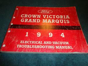 1994 Ford Crown Victoria Mercury Grand Marquis Wiring