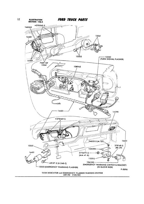 1970 Ford F600 Wiring Diagram by 1972 F250 4x4 Electrical Issues Ford Truck Enthusiasts