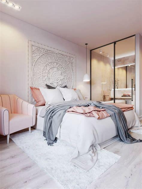 chambre adulte petit espace quel miroir dans une chambre d 39 adulte contemporaine
