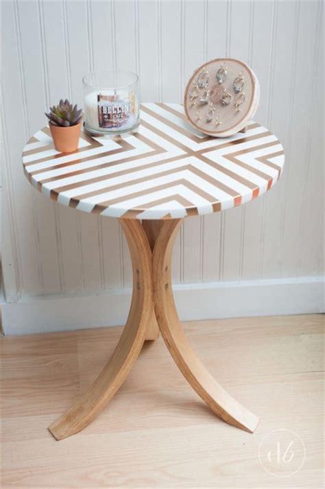 ikea side table makeover bigdiyideascom