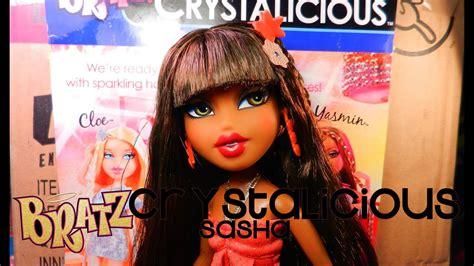 Bratz Crystalicious Sasha Doll! (fall 2012 Review)  Youtube
