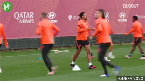 Roma played against manchester united in 2 matches this season. VIDEO: Roma train before taking on Manchester United
