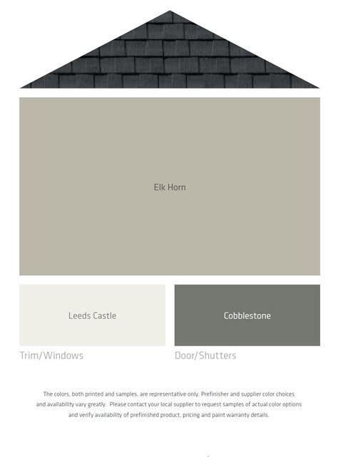 fresh color palettes for a gray or black roof front door